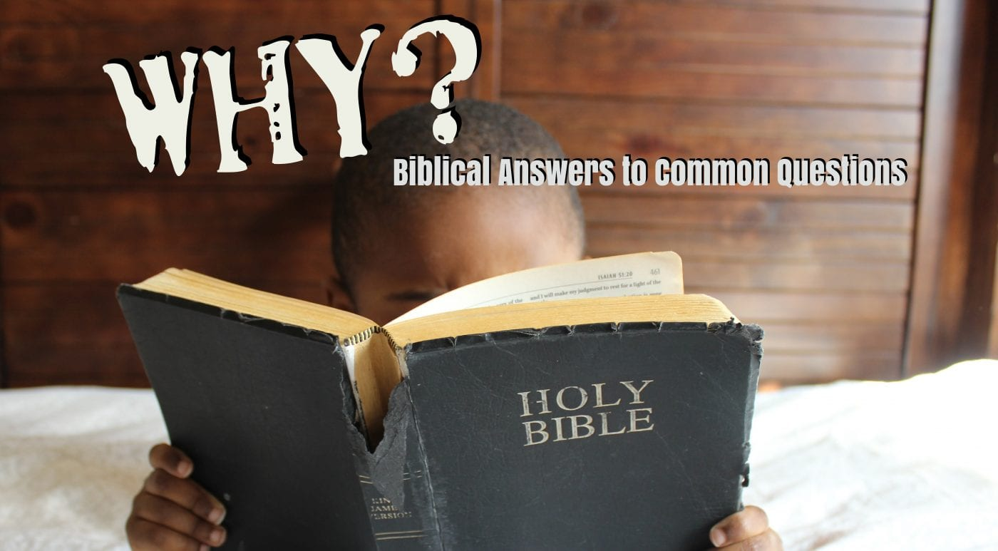WHY? (Biblical Answers to Common Questions)