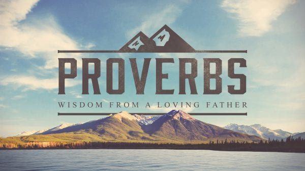 Proverbs - Prayer of the Wise Image