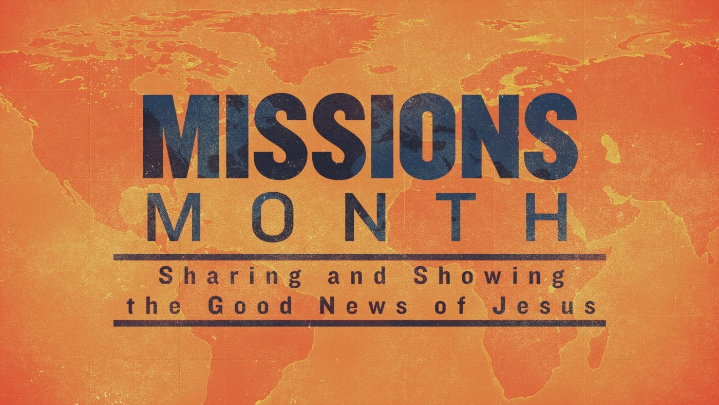 Missions Month Image