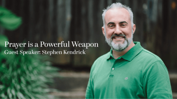 Prayer is a Powerful Weapon
